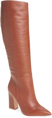 Steve Madden Showbiz Pointed Toe Knee High Boot