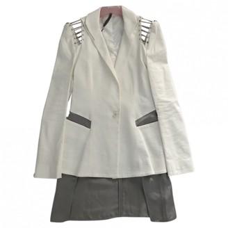 Todd Lynn White Linen Jacket for Women