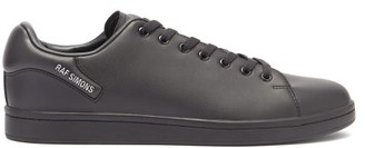 Raf Simons Orion Faux-leather Trainers - Black
