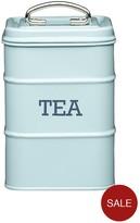 Kitchen Craft Living Nostalgia Vintage Tea Tin - Blue