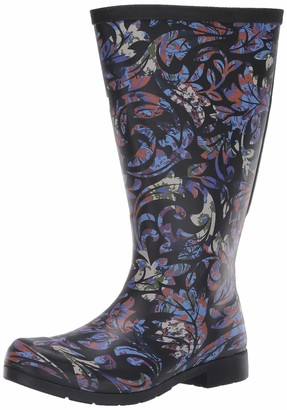 Chooka Flex Fit Elastic Brocade Tall Boot ML 7