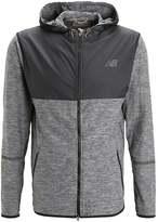 New Balance Space Sports Jacket Black Heather