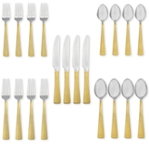 Hampton Forge Argent Orfèvres Broadway 24kt Gold 20-Piece Place Setting
