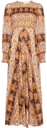 Zimmermann Suraya elephant-paisley maxi dress