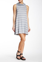 Socialite Cowl Neck Sleeveless Knit Dress