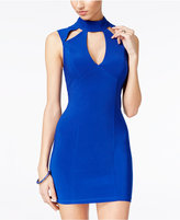 Trixxi Juniors' Cutout Bodycon Dress