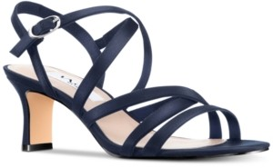 Nina Genaya Strappy Evening Sandals Women's Shoes