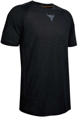 Under Armour Mens Project Rock Charged Cotton Tee