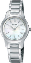Pulsar Womens Stainless Steel Bracelet Watch PRW011