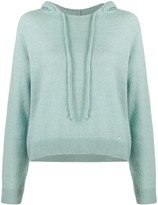 Lanvin button detail relaxed hoodie