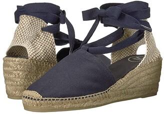 Toni Pons Valencia (Navy Canvas) Women's Shoes