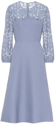 Valentino Lace and crApe dress