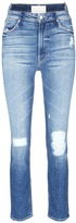 Mother 'The Dazzler Shift' distressed jeans