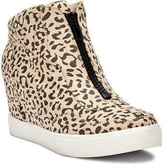 Coconuts by Matisse Long Live Leopard Print High Top Sneaker