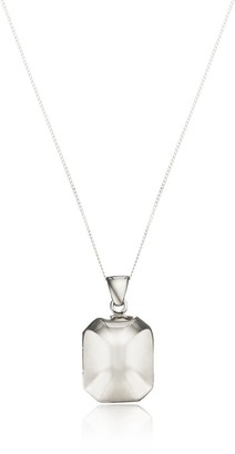 Lily & Roo Solid Silver Rounded Ball Locket Necklace