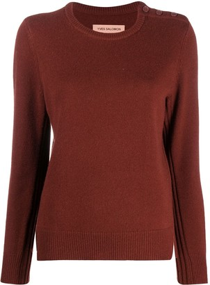 Yves Salomon Crew Neck Jumper