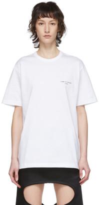 Comme des Garcons White Logo T-Shirt