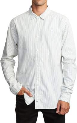 RVCA Hi-Grade Pinstripe Button-Up Shirt