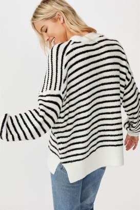 Cotton On Slouchy Mock Neck Pullover