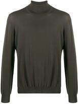 Barba fine knit turtleneck sweater