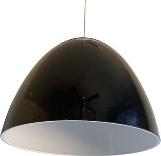 One Kings Lane Vintage Italian Lucite Pendant Light - C the Light Interiors