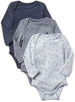 Gap Favorite long sleeve bodysuit (3-pack)