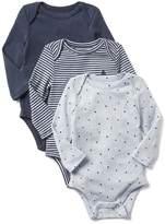 Gap Favorite long sleeve bodysuit (3-pack)