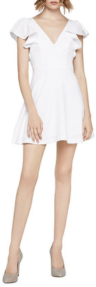 BCBGeneration Angel-Wing A-Line Dress