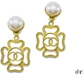 Chanel Four Leaf Earrings