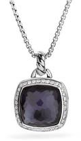 David Yurman Albion Pendant with Lavender Amethyst and Diamonds