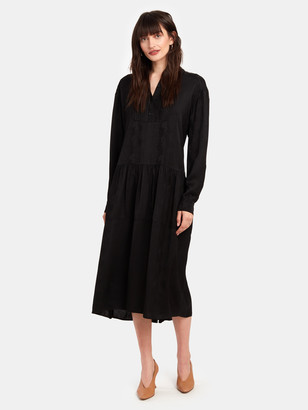 Birgitte Herskind Petrine Long Sleeve Midi Tent Dress