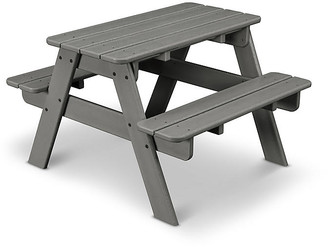 One Kings Lane Kids' Picnic Table - Slate Gray