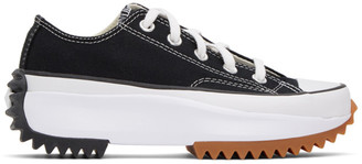 Converse Black Run Star Hike Low Sneakers
