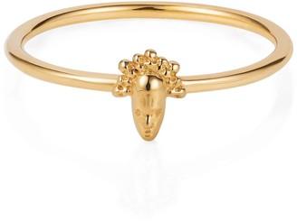 Lee Renee Tiny Voodoo Legba Ring Gold Vermeil