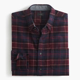 J.Crew Cotton-wool elbow-patch shirt in Hayes plaid