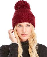 Portolano Chunky Knit Pom-Pom Hat