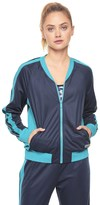 Juicy Couture Sport Colorblocked Tricot Jacket