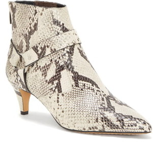 Vince Camuto Merrie Harness Pointed Toe Bootie