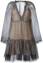 Stella McCartney circle star mini dress - women - Silk/Polyester - 40