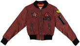 Urban Republic Rusty Rose Patch Bomber Jacket - Toddler & Girls