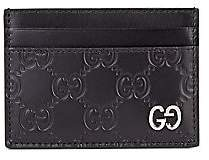 Gucci Men's GG Leather Credit Card Holder