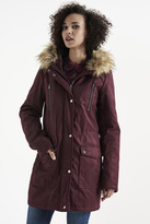 Point Zero Premium Faux Fur Hood Parka