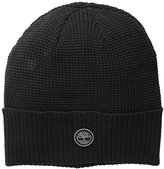 Timberland Men's Waffle Knit Watch Cap with Ribbed Cuff