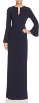 JS Collections Bell Sleeve Gown