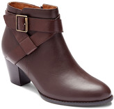 Vionic Women's Casual boots CHLT - Chocolate Trinity Leather Bootie - Women