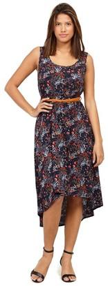 M&Co Izabel ditsy floral midi dress