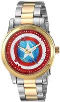 Marvel Men's 'Classic' Quartz Metal and Stainless Steel Casual Watch