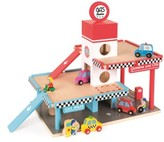 Janod Gas Station Play Set