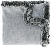 N.Peal woven long shawl