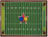 Fun Rugs Fun Time Football Field Rug - 3'3'' x 4'10''